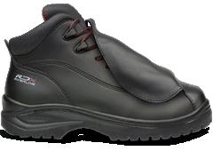 Foto de un calzado industrial con protección metatarsal marca Riverline
