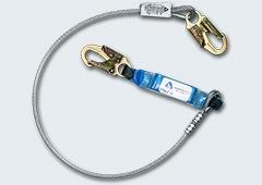 Cable de vida para trabajos en las alturas.