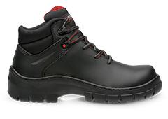 Imagen de un calzado industrial de protección resistente a la penetración