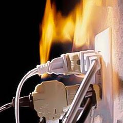 Ejemplo del método de extinción de fuego por eliminación de combustible.