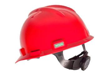 Imagen de un casco de seguridad