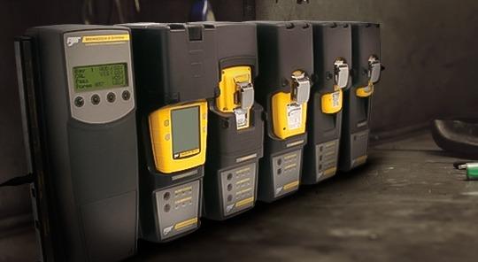 Sistema de Seguridad Industrial con detectores de gases calibrados