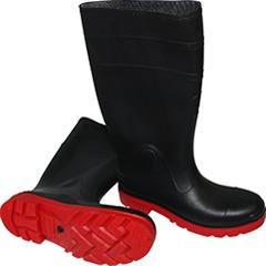 Foto de unas botas impermeables.